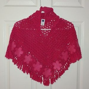 Toddler Girls Poncho